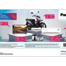 AC Panasonic Mengadakan Undian Berhadiah Motor Yamaha