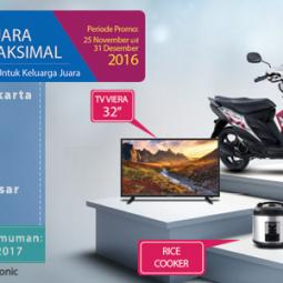 Pemenang Hadiah Undian AC Panasonic Lokasi Batam